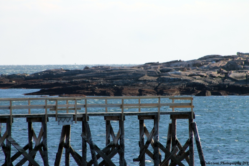 March 18, 2015 end of Magnolia Pier towards Kettle Cove Island