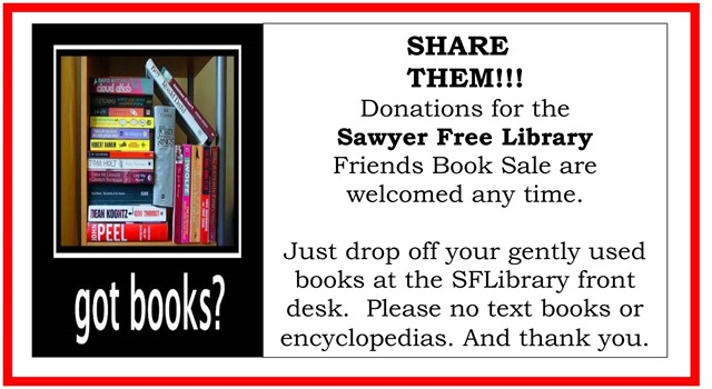 Spring Book Donation Poster