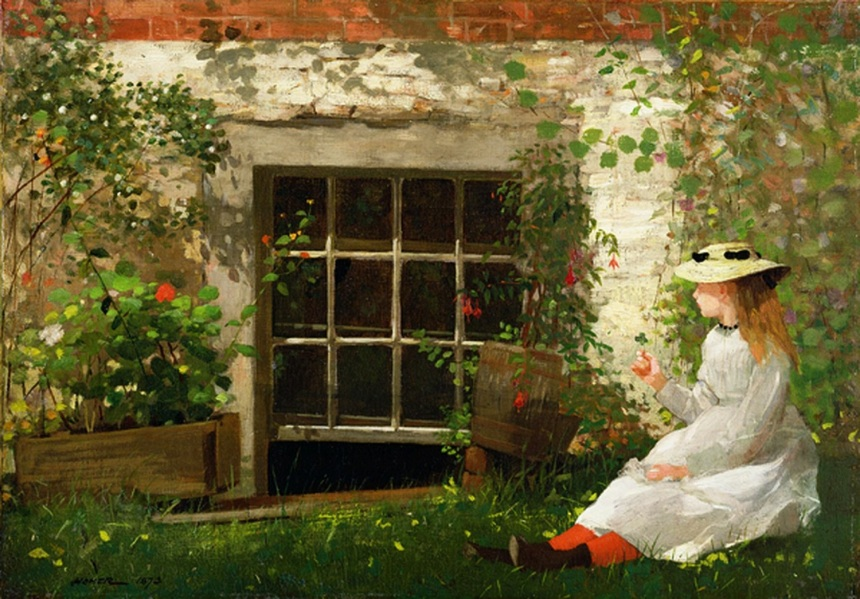 Winslow_Homer_-_The_Four_Leaf_Clover
