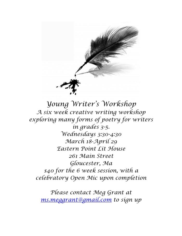 Young Scriptors Flyer