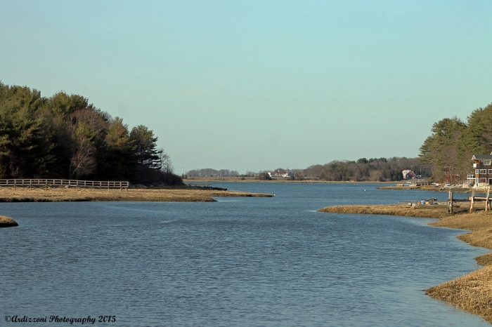 April 13, 2015 Pretty LIttle River as the tide is coming in