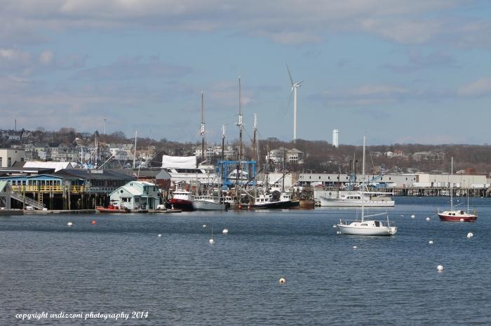 April 9, 2014 Rocky Neck boats