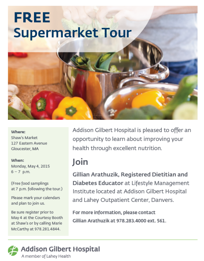 Free Supermarket Tour