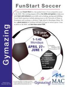 Fun Start Soccer- Spring 2015