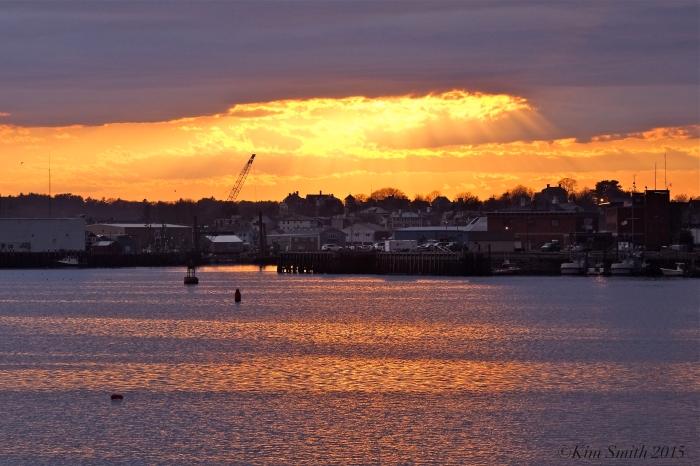Gloucester City Skyline Sunset  -1 ©Kim Smith 2015