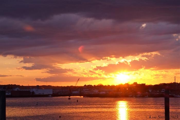Gloucester City Skyline Sunset -2 ©Kim Smith 2015