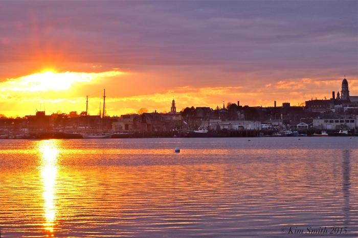 Gloucester City Skyline Sunset -4 ©Kim Smith 2015.J