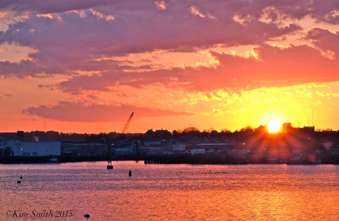 Gloucester City Skyline Sunset -5 ©Kim Smith 2015.J