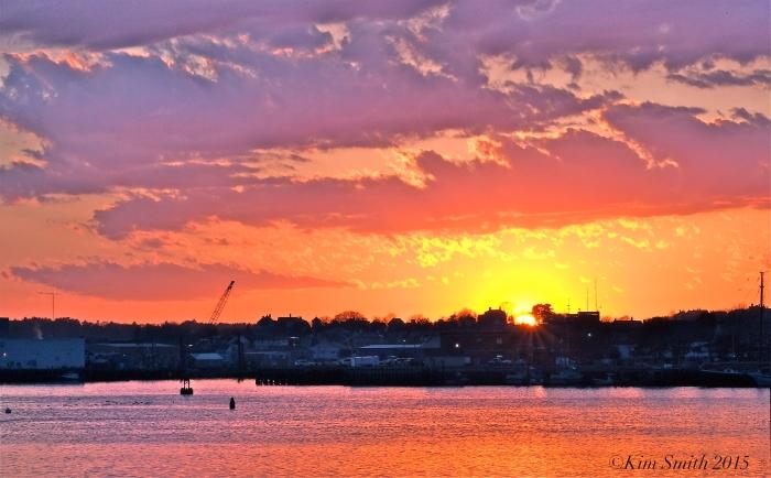 Gloucester City Skyline Sunset -6 ©Kim Smith 2015.J