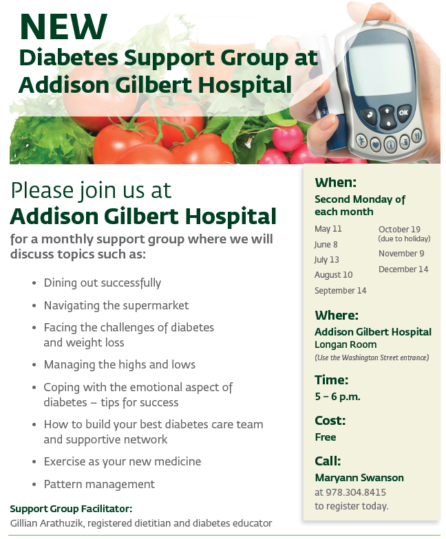 New Diabetes Support Group