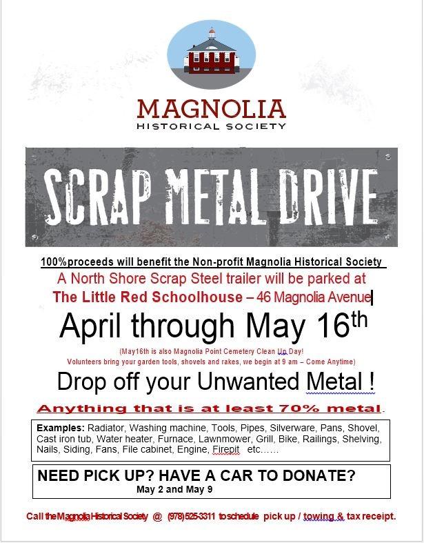 Scrap Metal Drive