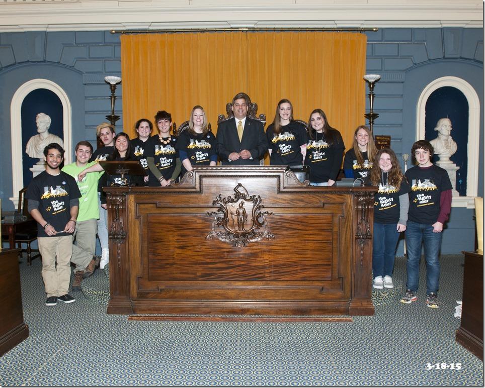 Senator Tarr and HGC Youth Council