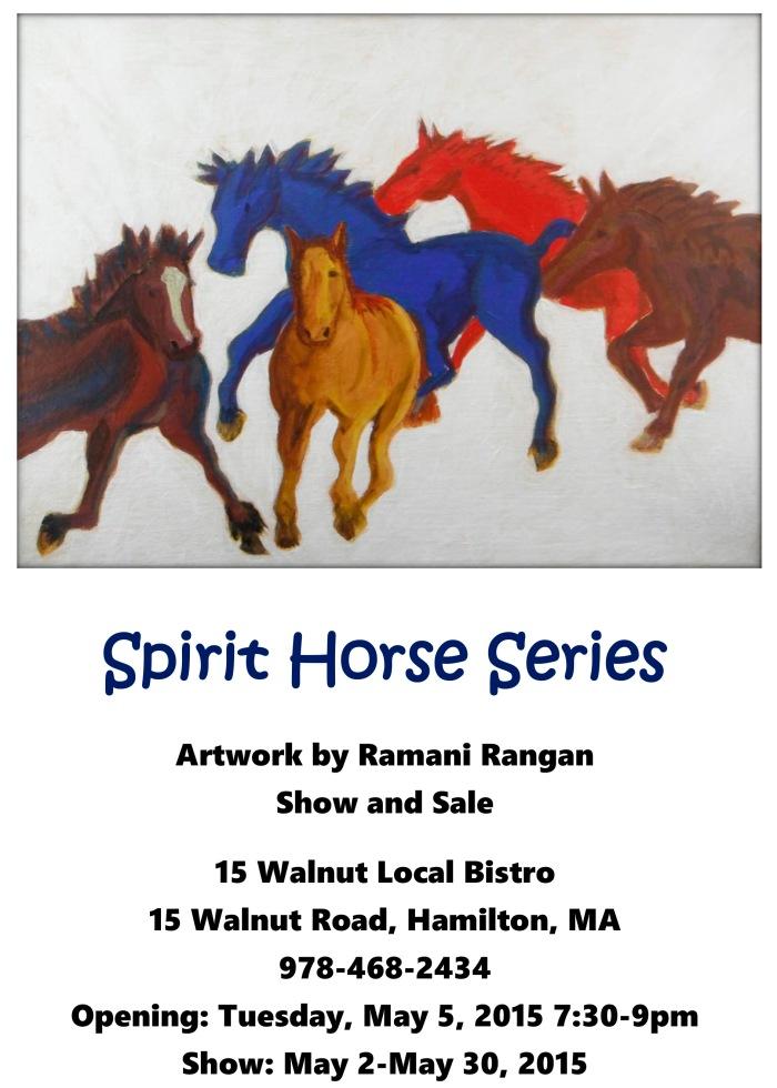 Spirit Horse Series Flyer