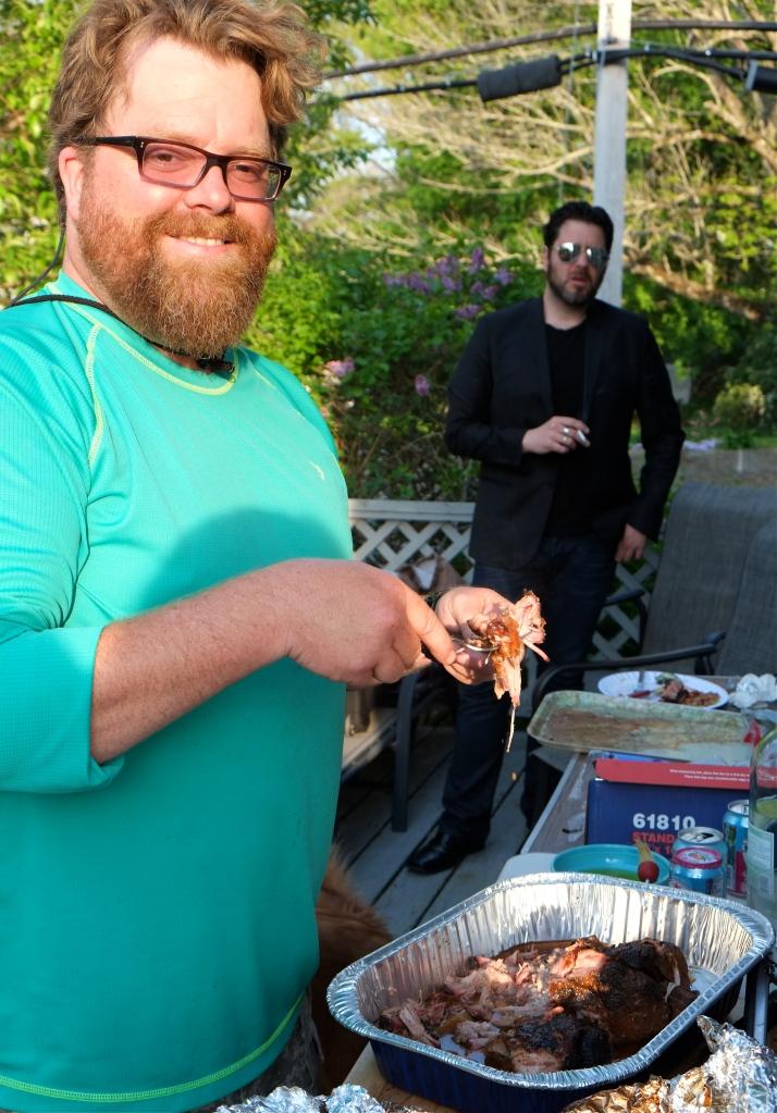 Craig Kimberley grilling ©Kim smith 2015