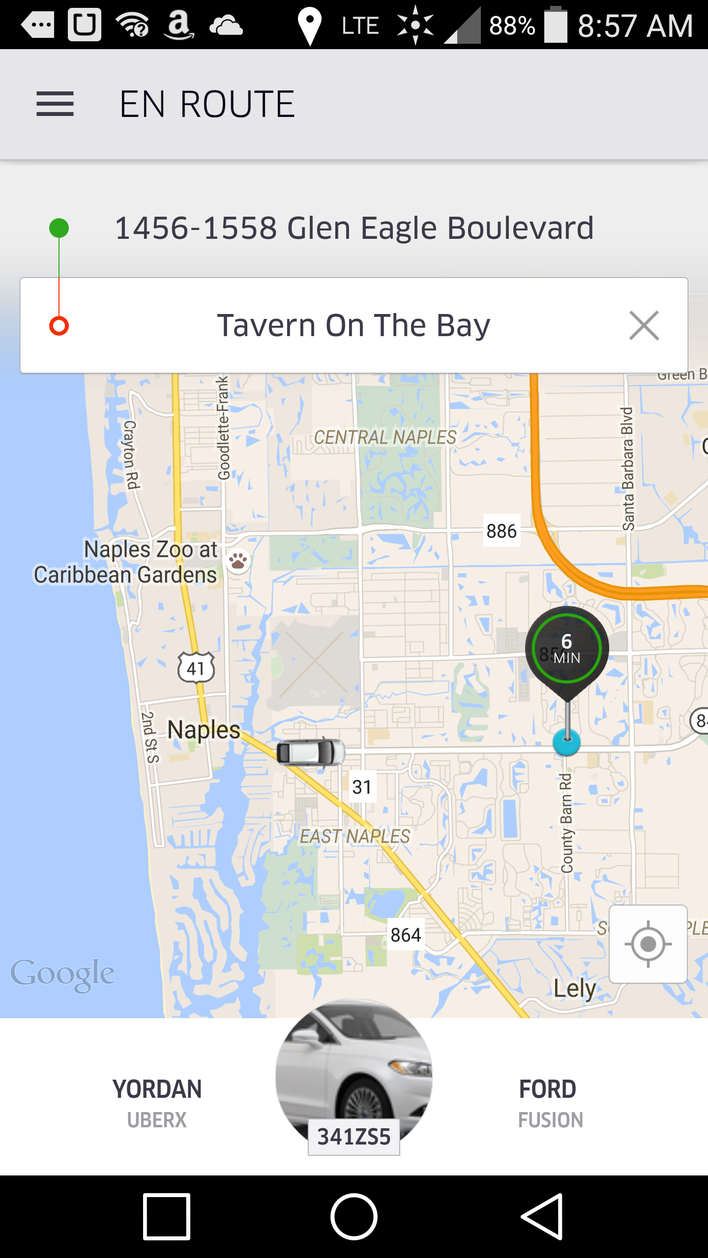 Best Car For Uber >> I'm officially a monstersous fan of UBER. Screenshot video ...