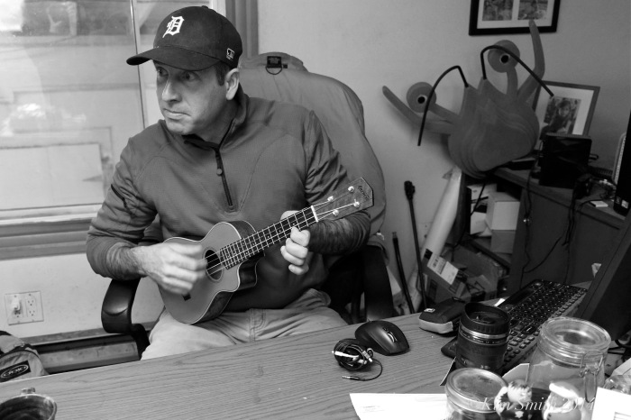 Joey Ciaramitaro John Hicks uklele interview  -3 ©Kim Smith 2014.