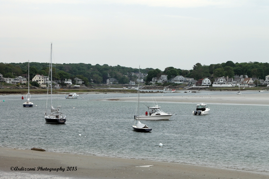 May 25, 2015 low tide on the Annisquam