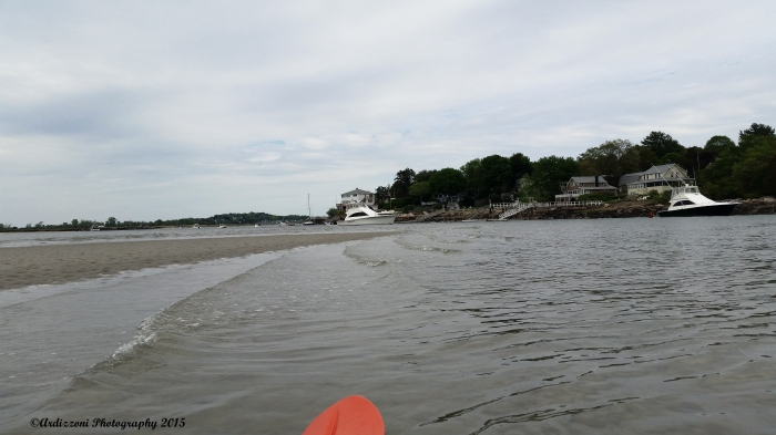 May 25, 2015 Paddling out on the Annisquam