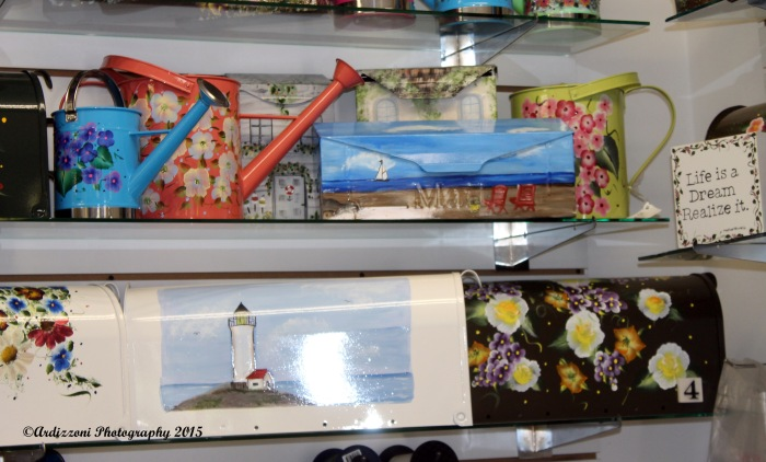 May 5, 2015 beautiful hand painted mailboxes