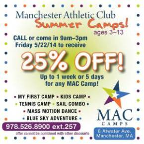 25% Off Camp - TODAY ONLY!