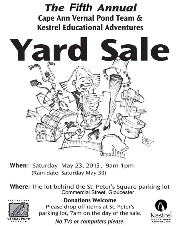 Yard Sale flyer2015LR