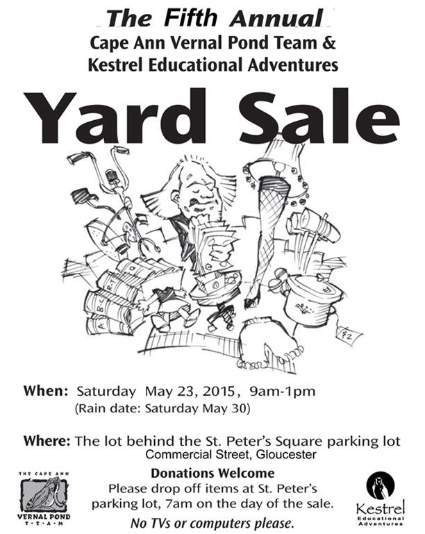 Yard Sale flyer2015LR