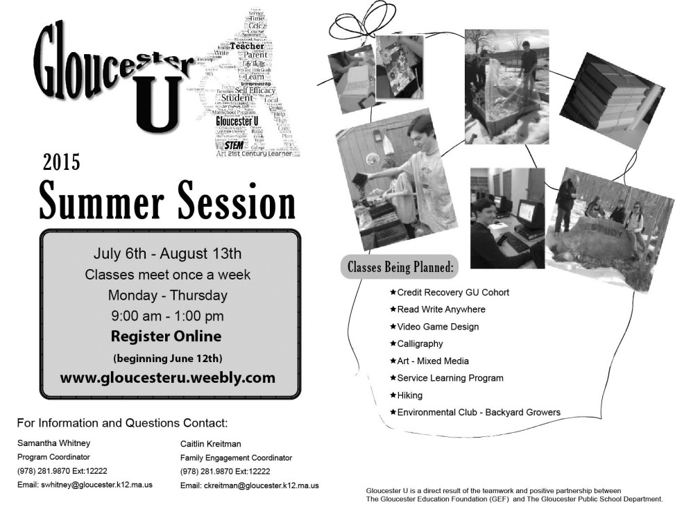 2015 summer Session Handout