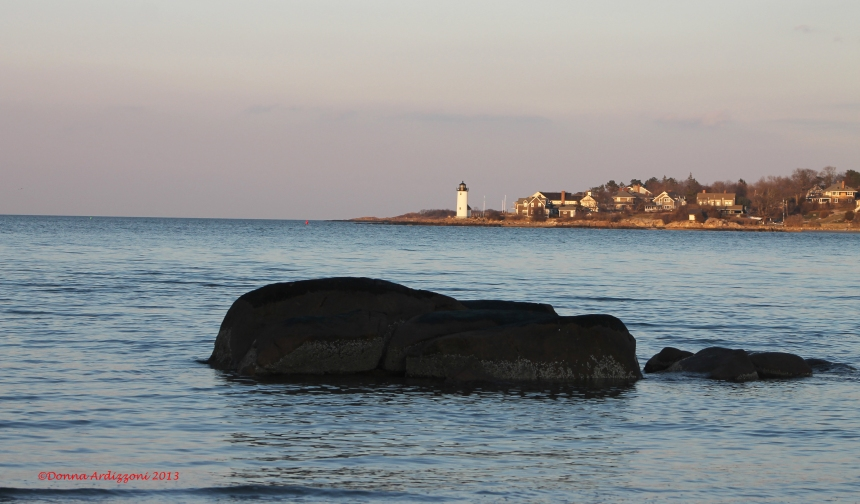 Annisquam Light House from Wingersheek Beach