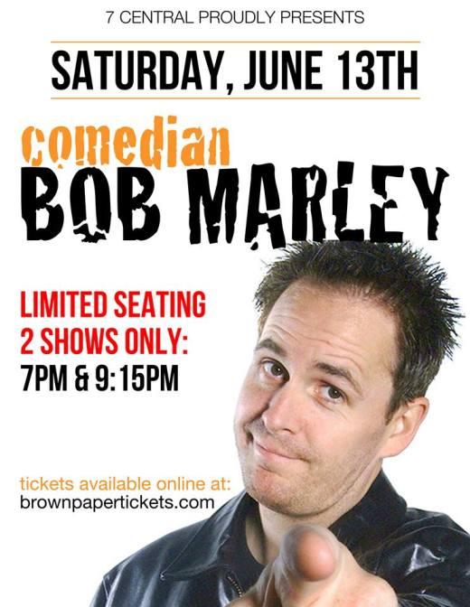 comedian bob marley