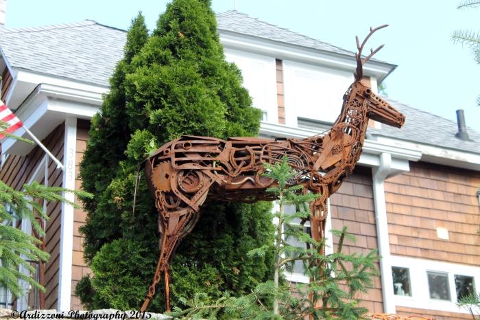 June 18, 2015 bronze deer