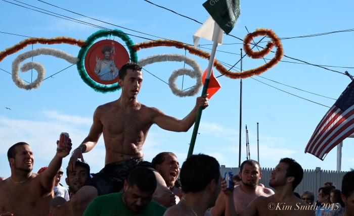Lenny Taormina Friday Greasy Pole Champion ©Kim Smith 2015