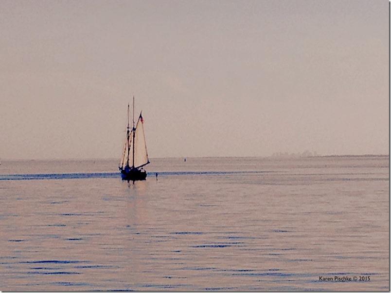 Niles Beach Sunset Ardelle and Boston Skyline 6.15 FB