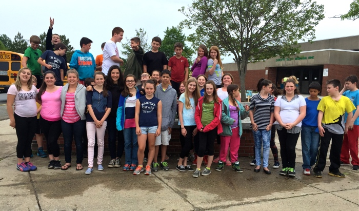 O'Maley Sixth Grade Butterflyy Gardeners ©Kim Smith 2015