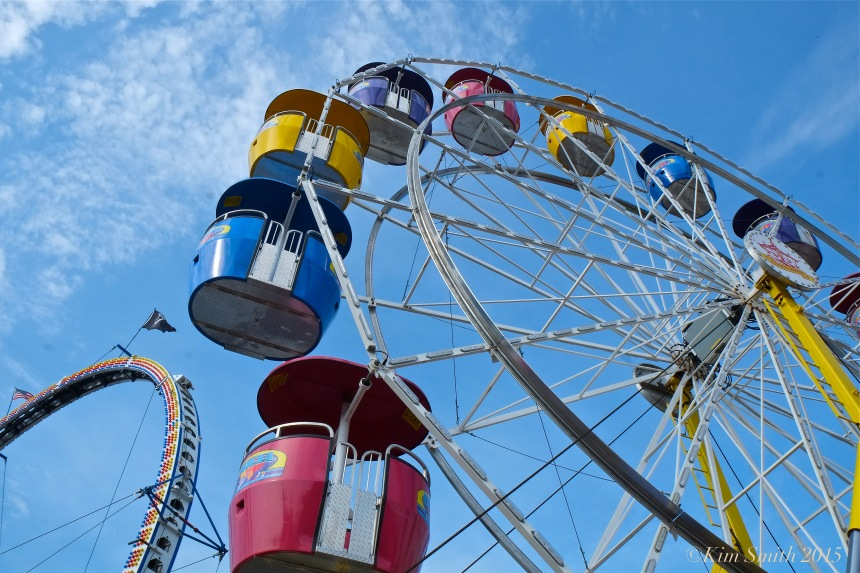 Saint Peter's Fiesta Gloucester 2015 Ferris Wheel ©Kim Smith 2015