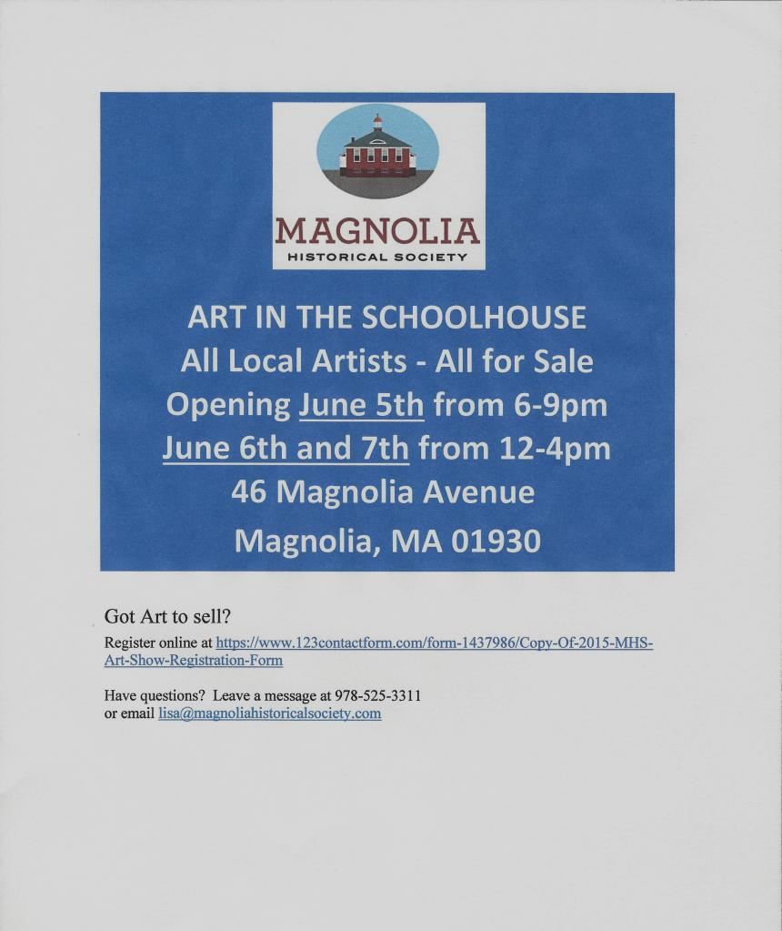 Scan June 5 Magnolia Show
