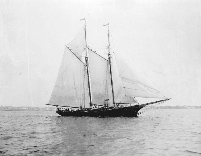 The Ernestina-Morrissey,  c. 1894. Collection of the Cape Ann Museum.