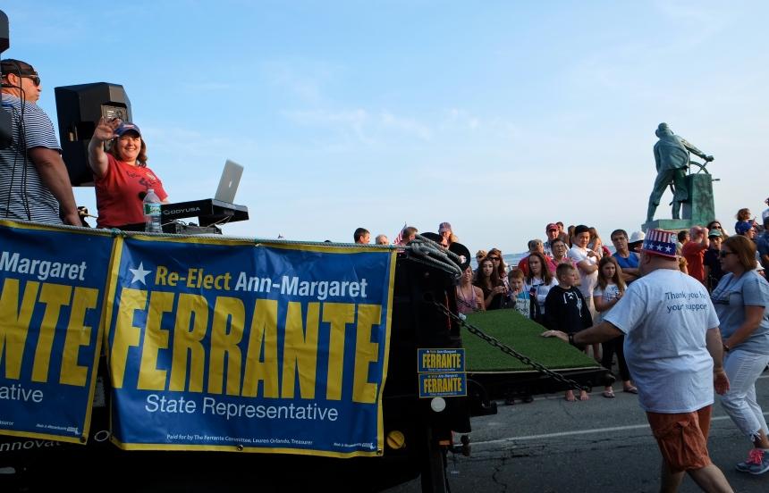 Gloucester Horribles Parade Ann margaret Ferrante ©Kim Smith 2015