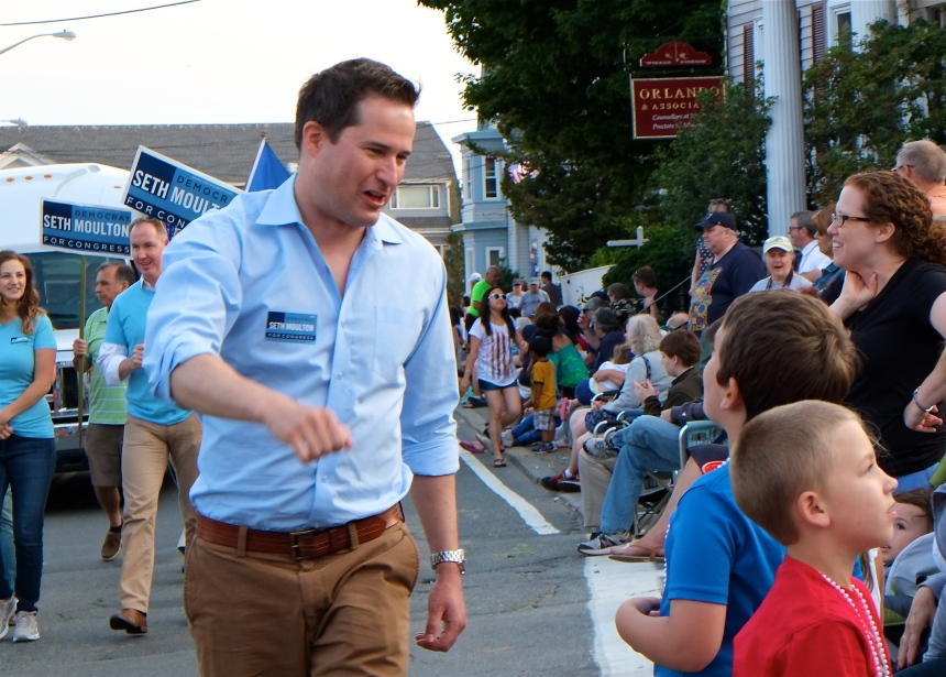 Gloucester Horribles Parade Seth Moulton -2 ©Kim Smith 2015