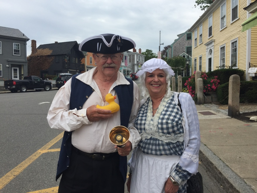 There was a big announcement by the Continental Congress at 10 AM in Rockport Dock Square! Did anyone catch what that was about?