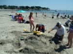 July 11, 2015 starting the sand castle contest