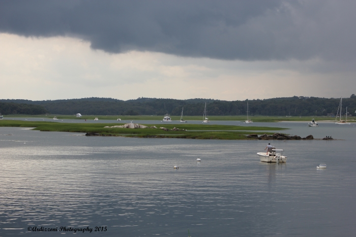 July 15, 2015 Storm approaching over the Annisquam