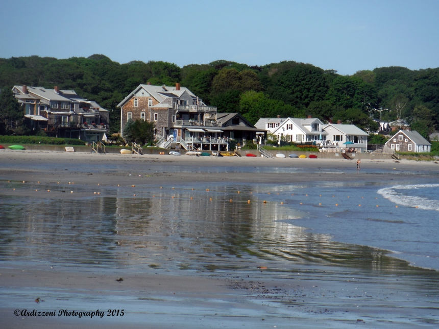 July 16, 2015 low tide on beautiful Magnolia Beach