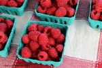July 23, 2015 Rasberries from Marshall's Farm