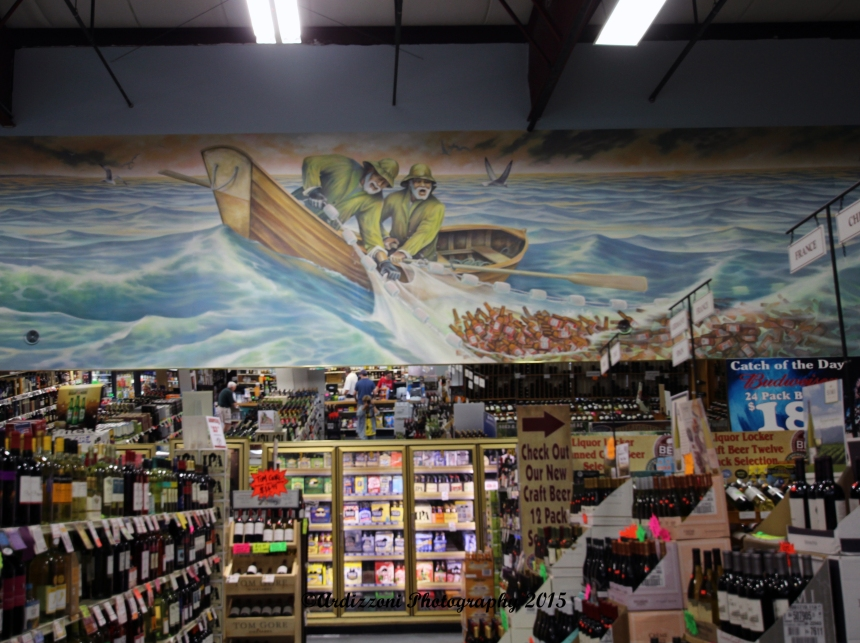 July 3, 2015 Mural at the Liquor Locker