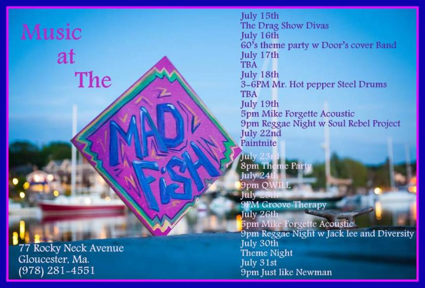 madfish.new line up july