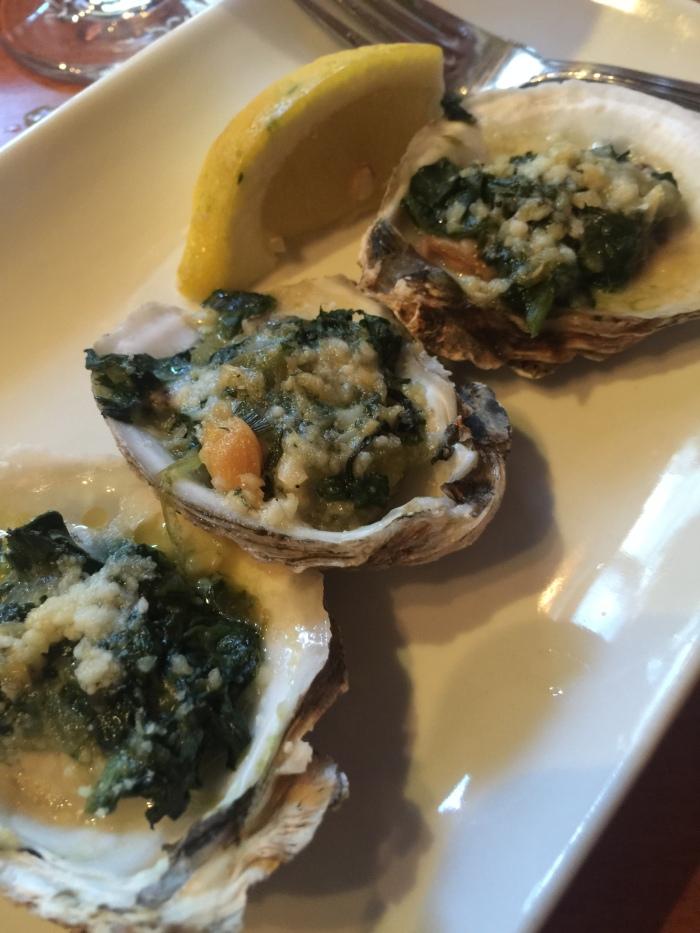 Oysters Rockerfeller Passports Restaurant ©Kim Smith 2015