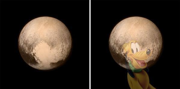 Up close Pluto!!