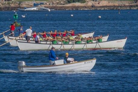 Three Boats Off the Start