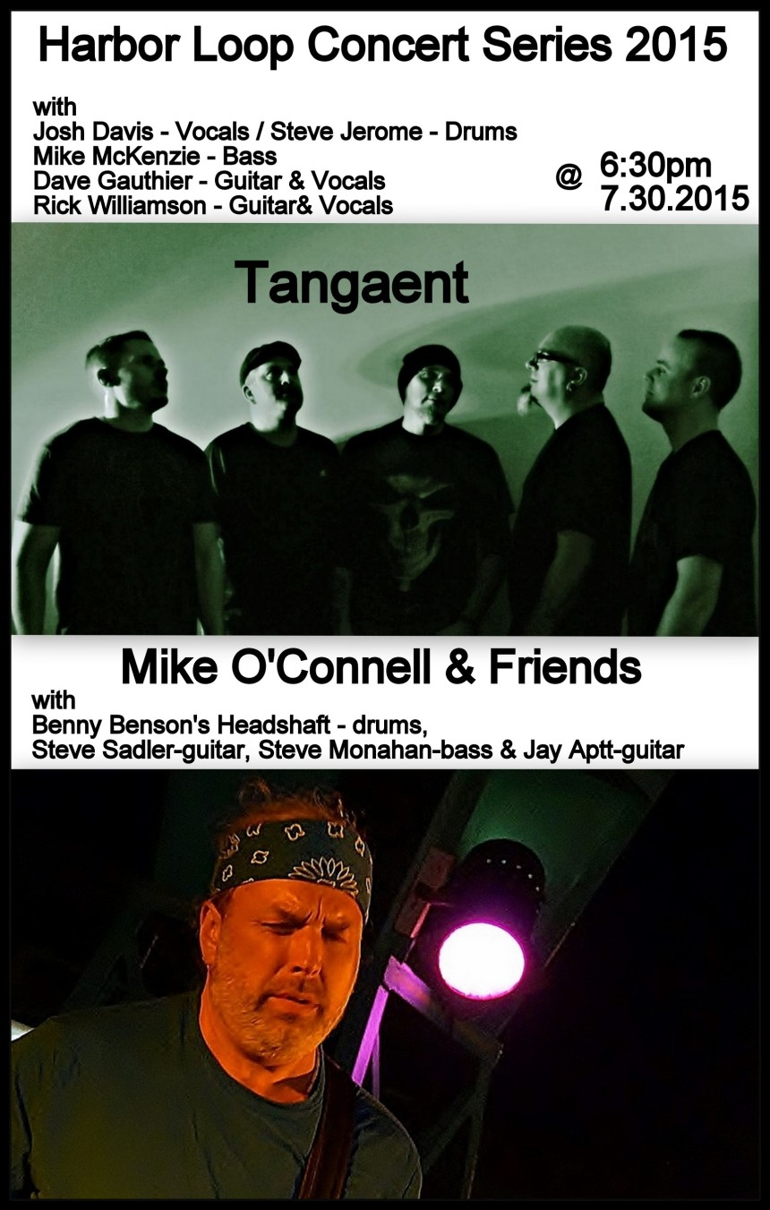 Tangaent & Mike Oconnell and friends 2015-07-30