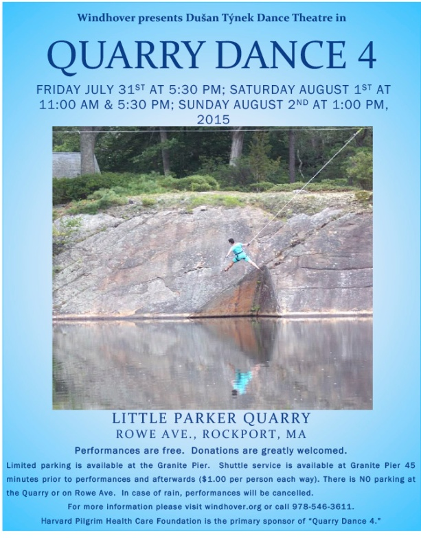 Quarry Dance 4  v2 flyer
